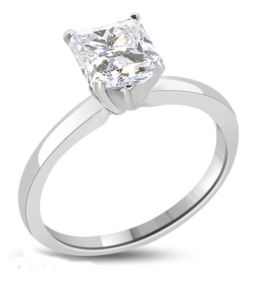 Princess Diamond 1.01 ct - E/SI2 - Certifed