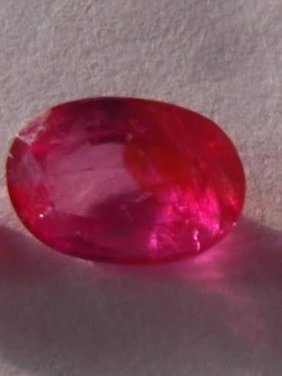 Natural Red Ruby 1.10 Carats