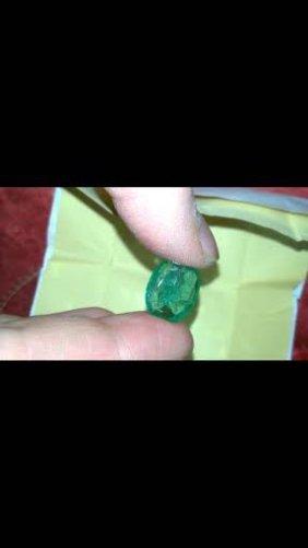 Natural Columbian Emerald 7.60 Carats