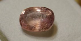 Ceylon Pink Color Sapphire 4.61 Ct - Egl Certified