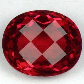 Stunning Red Topaz 19.82 Carats - Flawless