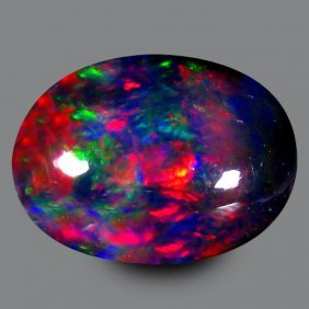 Natural Harlequin Black Opal 2.775 Carats