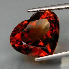 Natural Whisky Color Topaz 15.97 Carats - Vs