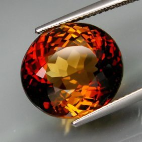 Natural Whisky Color Topaz 12.96 Carats - Vs