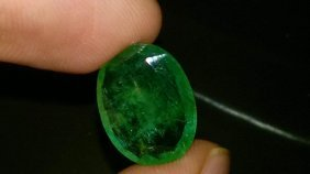 Natural Top Emerald 7.66 Carats - Certified