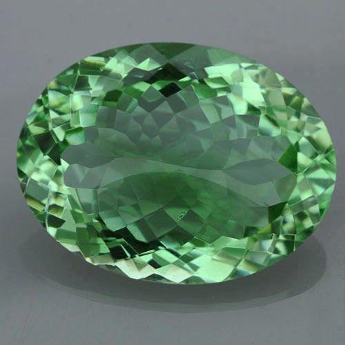 Natural Healing Green Color Amethyst 32.25 Cts - VVS