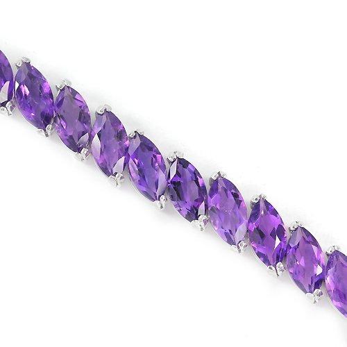 Stunning Natural Amethyst Bracelet - 2