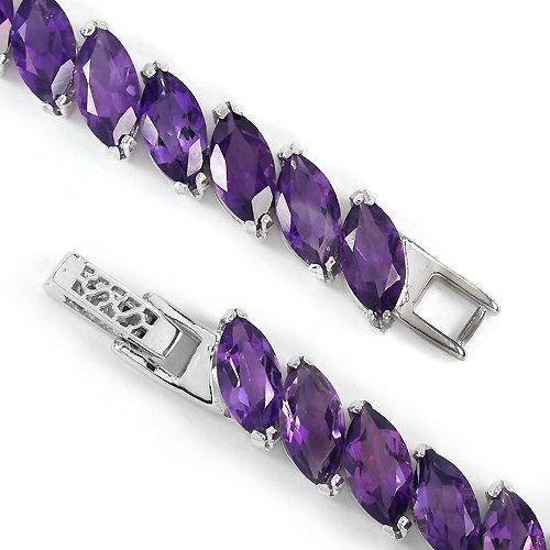 Stunning Natural Amethyst Bracelet - 3