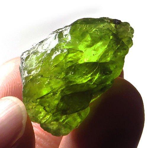 Natural Peridot Gemstone Rough 32.25 Carats
