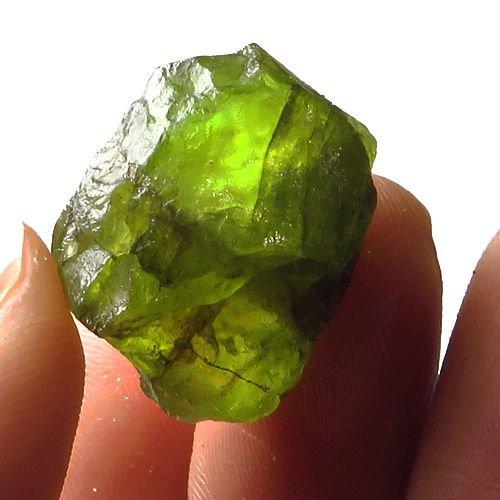 Natural Peridot Gemstone Rough 33.50 Carats
