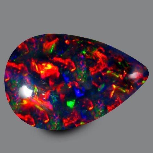 Natural Harlequin Black Opal 5.25 carats