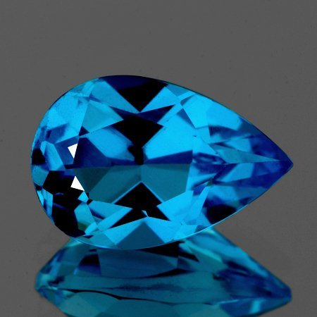 Natural Swiss Blue Topaz 4.41 Cts Flawless