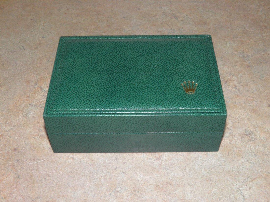 Vintage Rolex Leather Watch Box