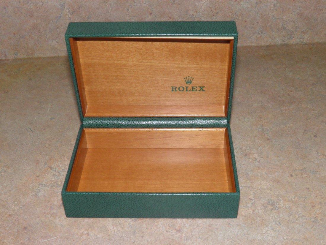 Vintage Rolex Leather Watch Box - 2