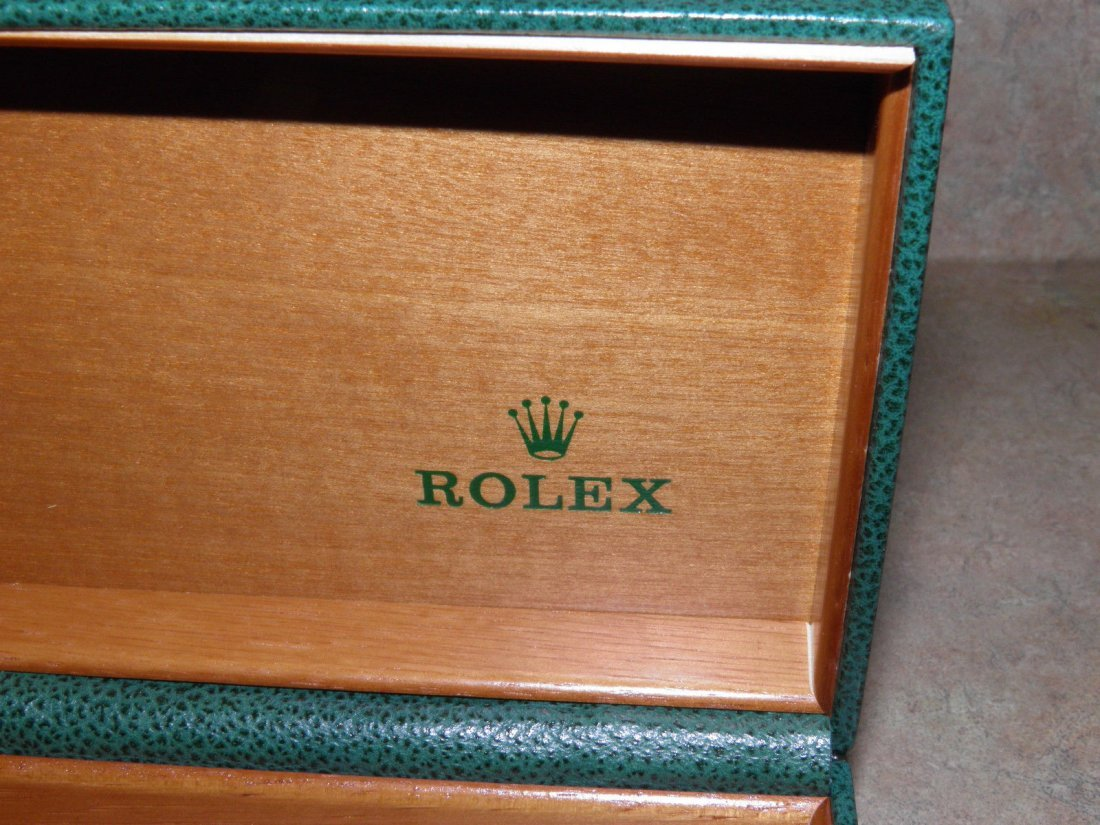 Vintage Rolex Leather Watch Box - 3