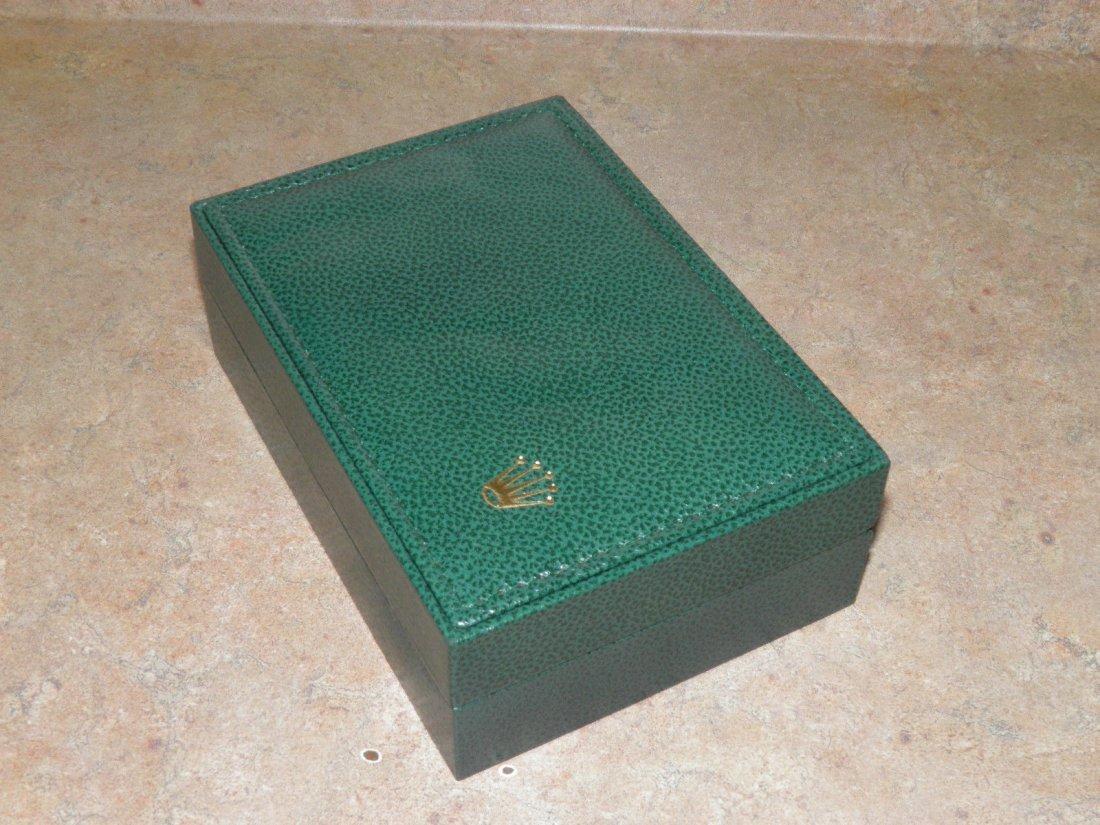 Vintage Rolex Leather Watch Box - 4