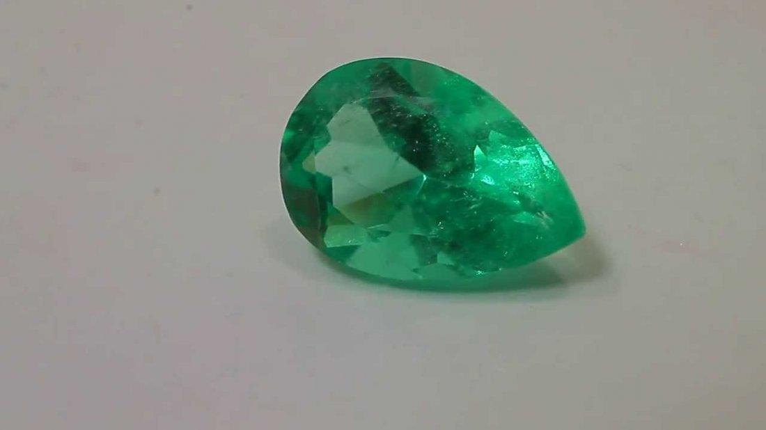 Natural Emerald 1.34 carats - no Treatment