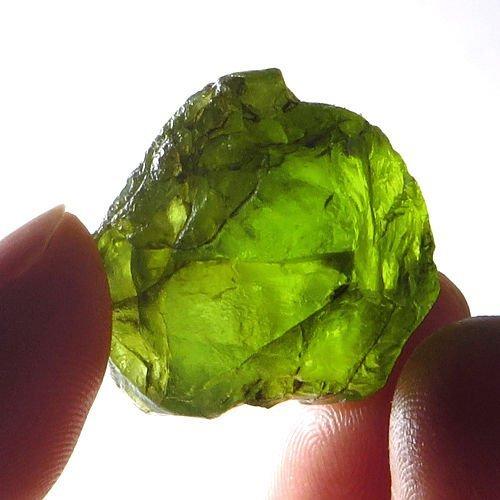 Natural Peridot Gemstone Rough 68.60 Carats