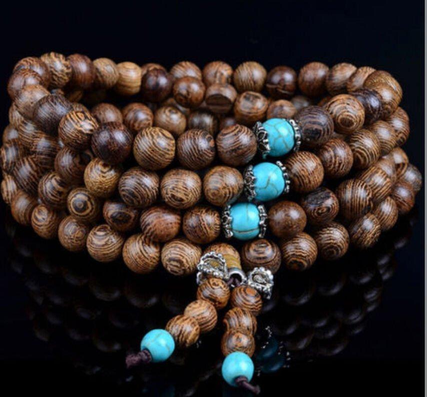 Tibet Buddha 108 Prayer Beads