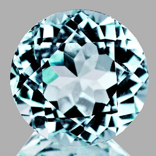 Natural Sky Blue Aquamarine 3.20 Cts - Flawless