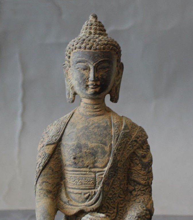 Antique Buddha Statue - 2
