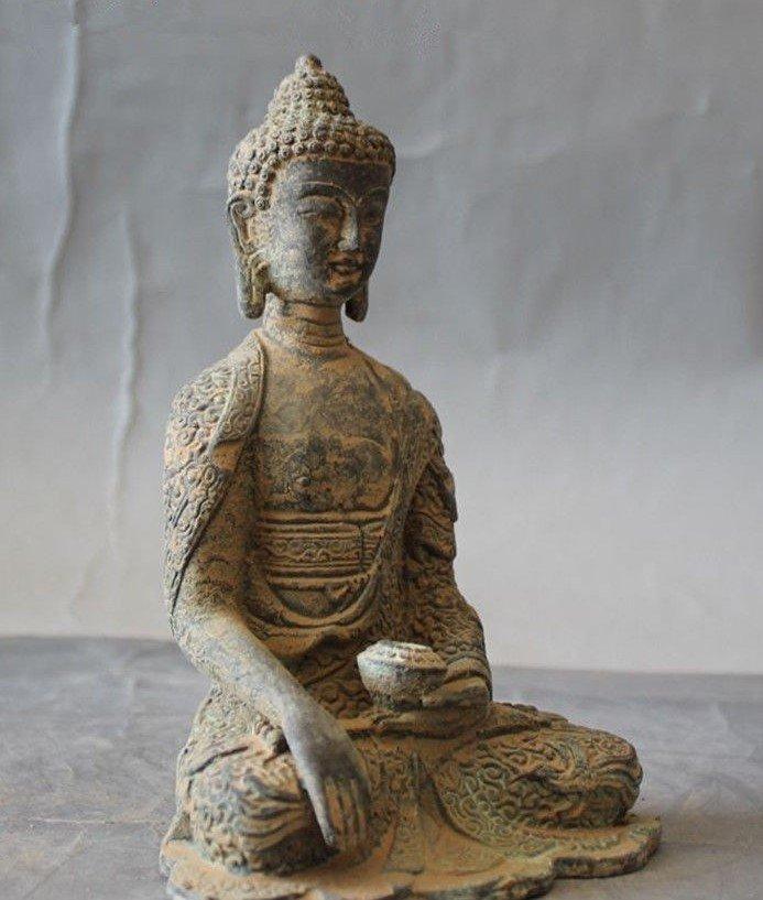Antique Buddha Statue - 4