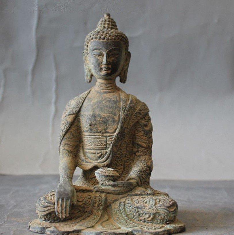 Antique Buddha Statue - 5