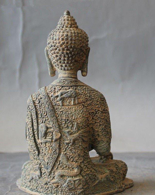 Antique Buddha Statue - 6