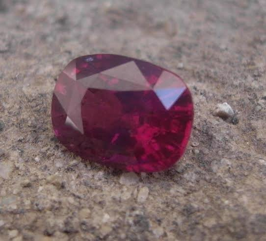 Natural Rare Ruby 3.35 carats - GRS Certified