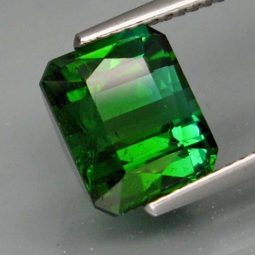 Natural Top Bluish Green Tourmaline 3.98 cts