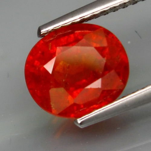 Natural Mandarin Orange Spessartite Garnet 2.77 Cts