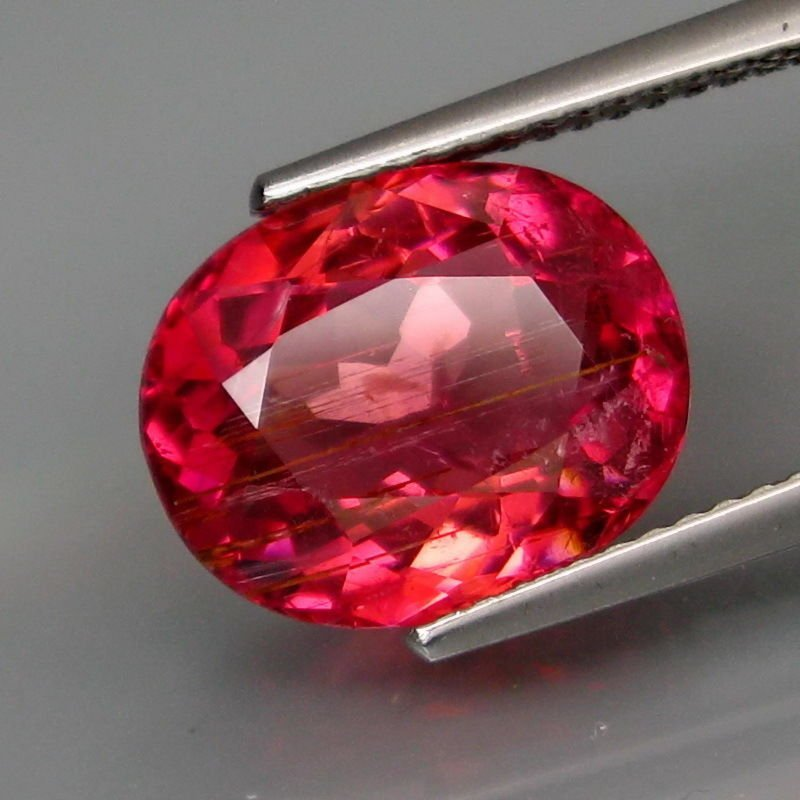 Natural Hot Pink Tourmaline 4.79 Carats