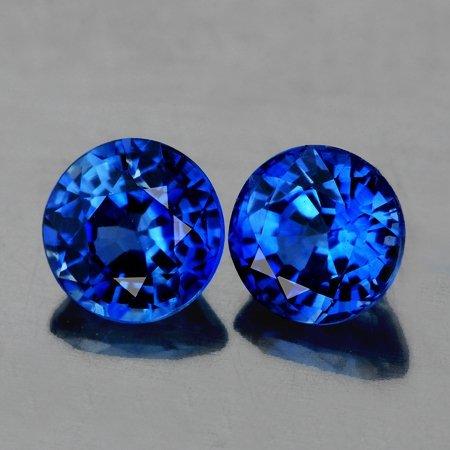 Natural Cornflower Blue Kashmir Sapphire 4.30 mm - VVS