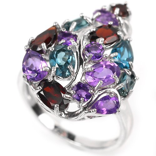 Stunning Multi Gemstone Ring