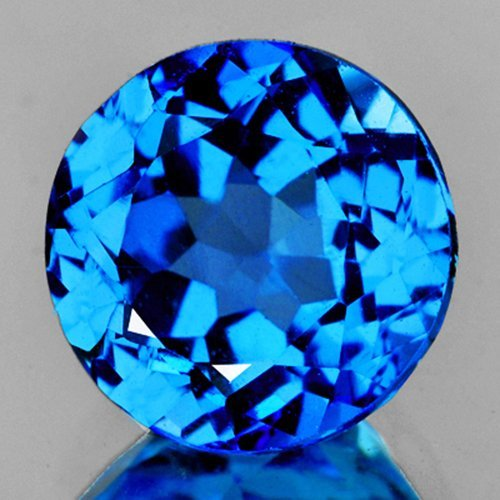 Natural Swiss Blue Topaz 7.86 Cts - VVS
