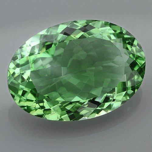Natural Healing Green Color Amethyst 27.50 Cts - VVS