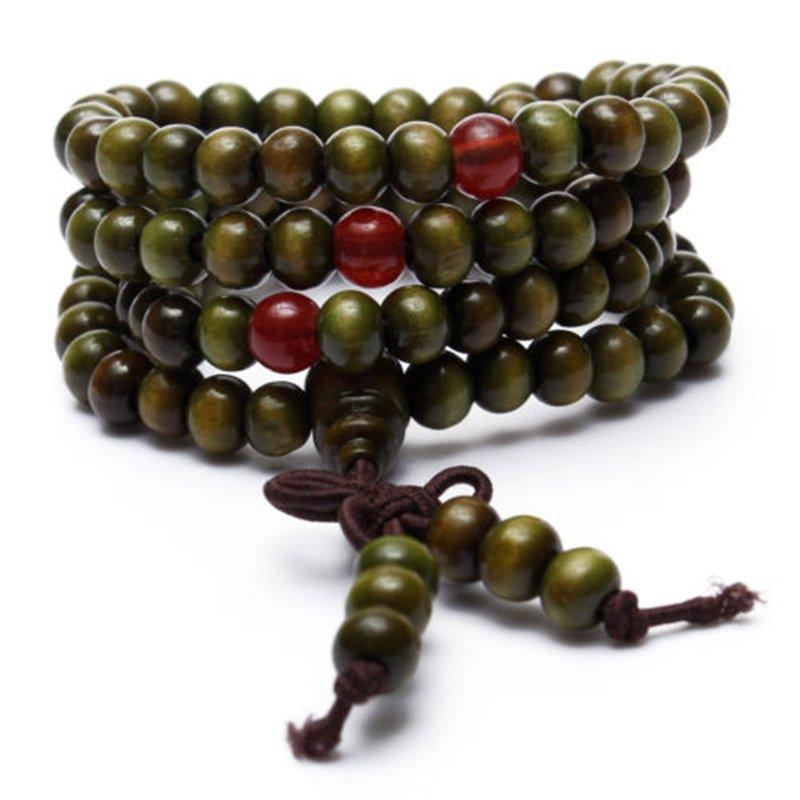 Tibet Buddha Meditation 108 beads Prayer Necklace/Mala