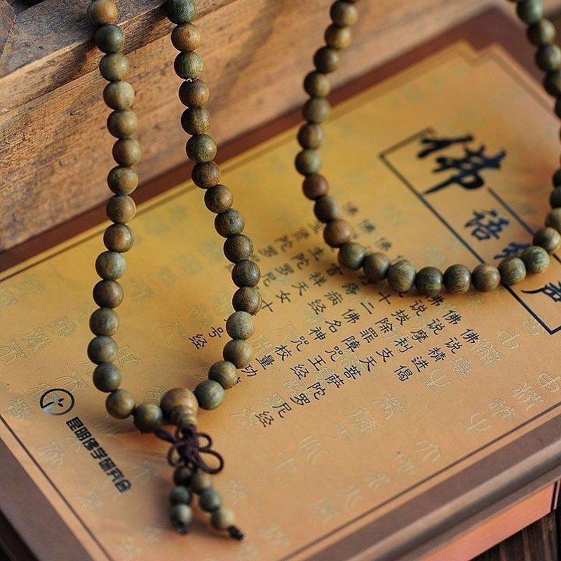 Tibet Buddha Meditation 108 beads Prayer Necklace/Mala - 4