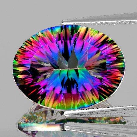 Natural Rainbow Mystic Quartz 17.67 Cts - FL