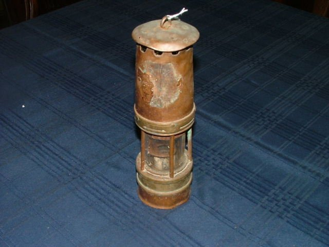 509: Brass Miners Lamp Start Bid €10