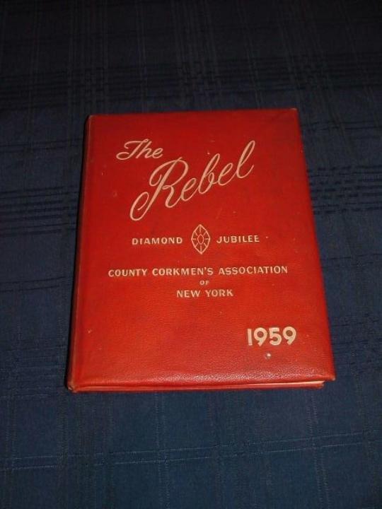 Rare 1959 Diamond Jubilee book of the County Corkmens A