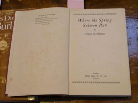 Book, hardcover, Where the Spring Salmon Run, by Patric