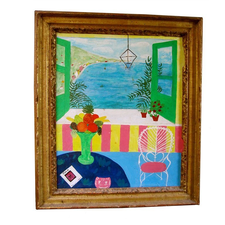 5: Matisse-Inspired French Seaside Painting