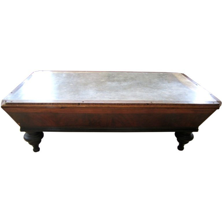 23: Slate Top French Pool Table, c. 19th cent.