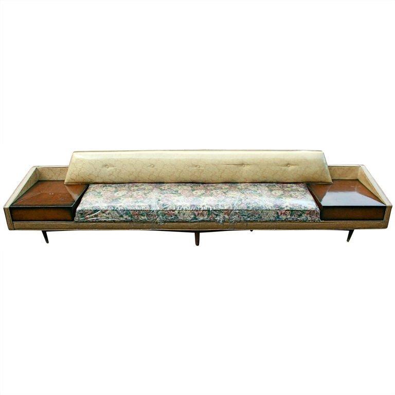 47: Gigantic Mid-Century Sofa