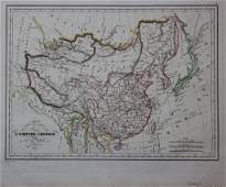 307: MAP OF CHINA,1855