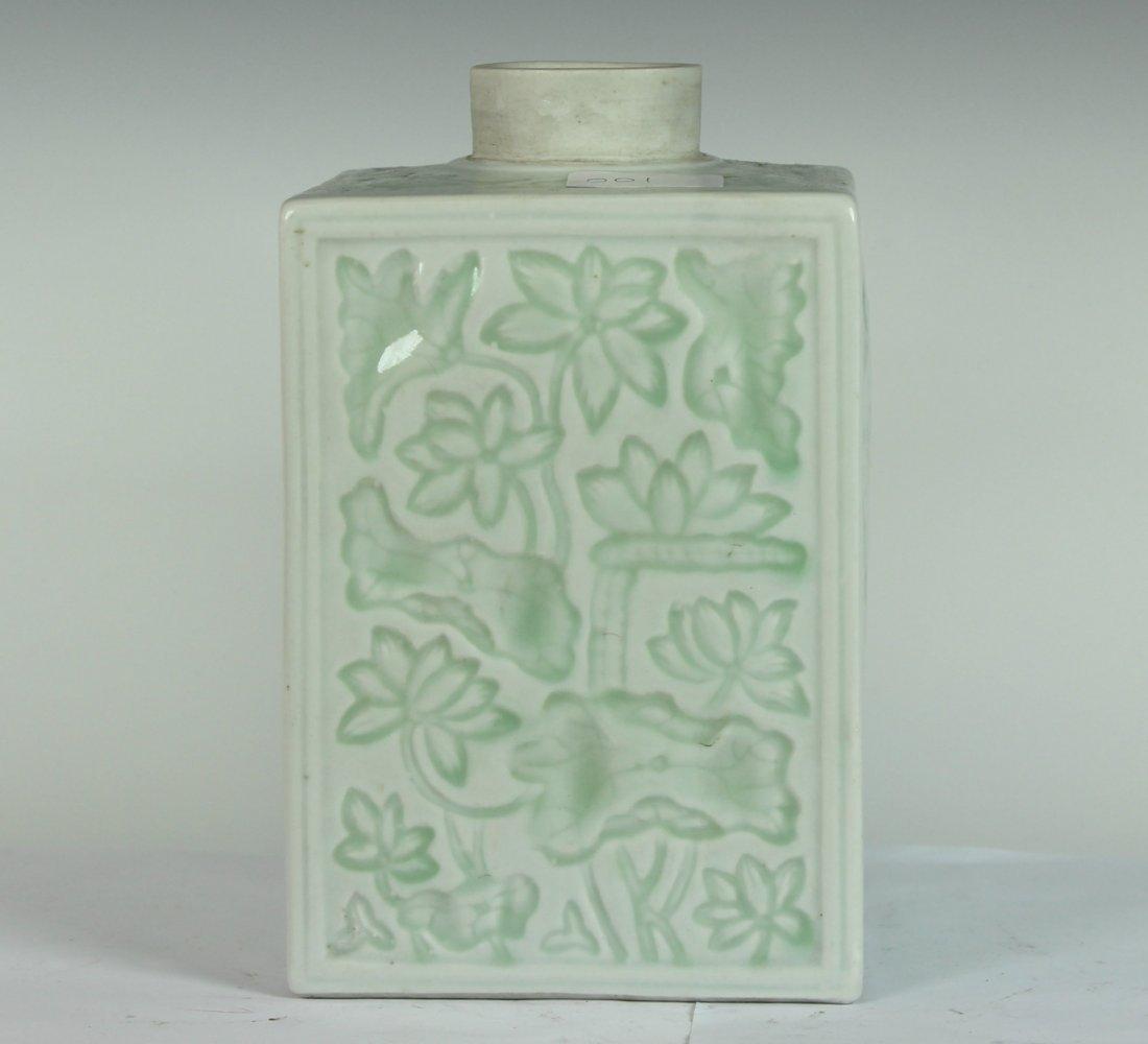 A Celadon-Glazed Tea Pot