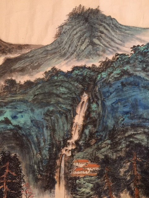 Chinese Paper Scroll Painting - 2