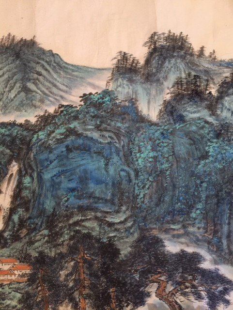 Chinese Paper Scroll Painting - 3