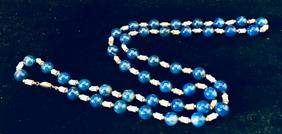 Lapis lazuli necklace, Estate Jewelry